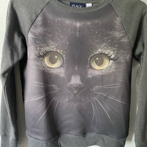 NWOT Children's Place Cat Sweatshirt